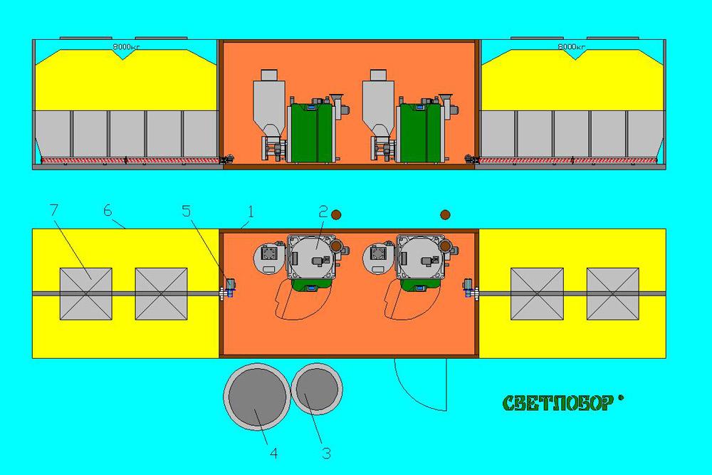 Модульная котельная (второй вариант)